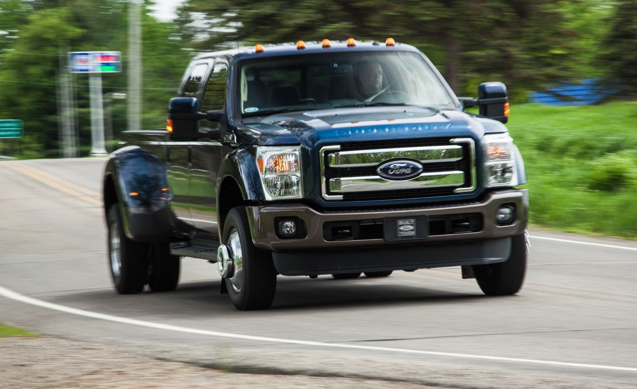 2015 Ford F-350 Super Duty V-8 Diesel 4x4 Test | Review ...