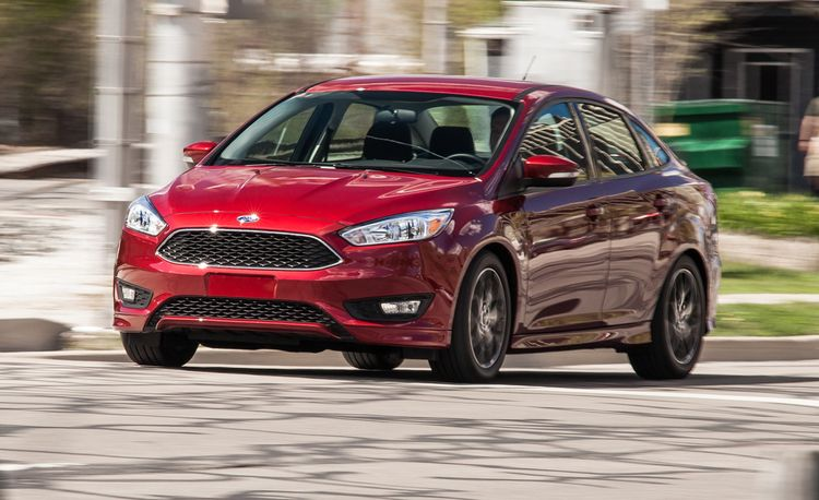 2015 Ford Focus SE 1.0L EcoBoost Sedan