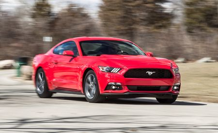 2015 Ford Mustang V-6