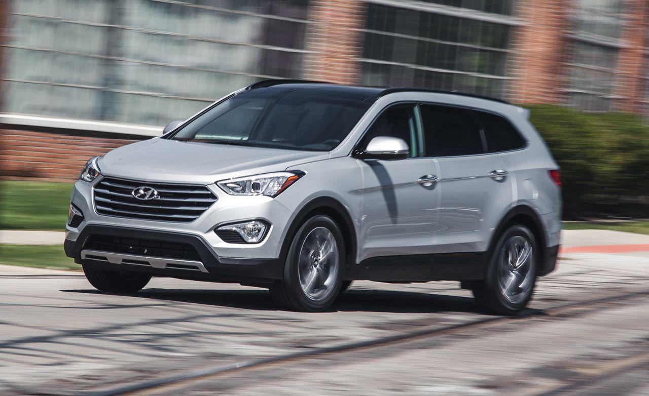 Hyundai santa fe review 2016