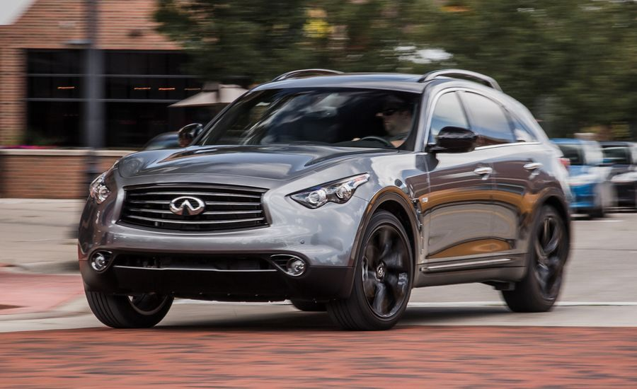 2015 infiniti qx70 review car and driver. Black Bedroom Furniture Sets. Home Design Ideas