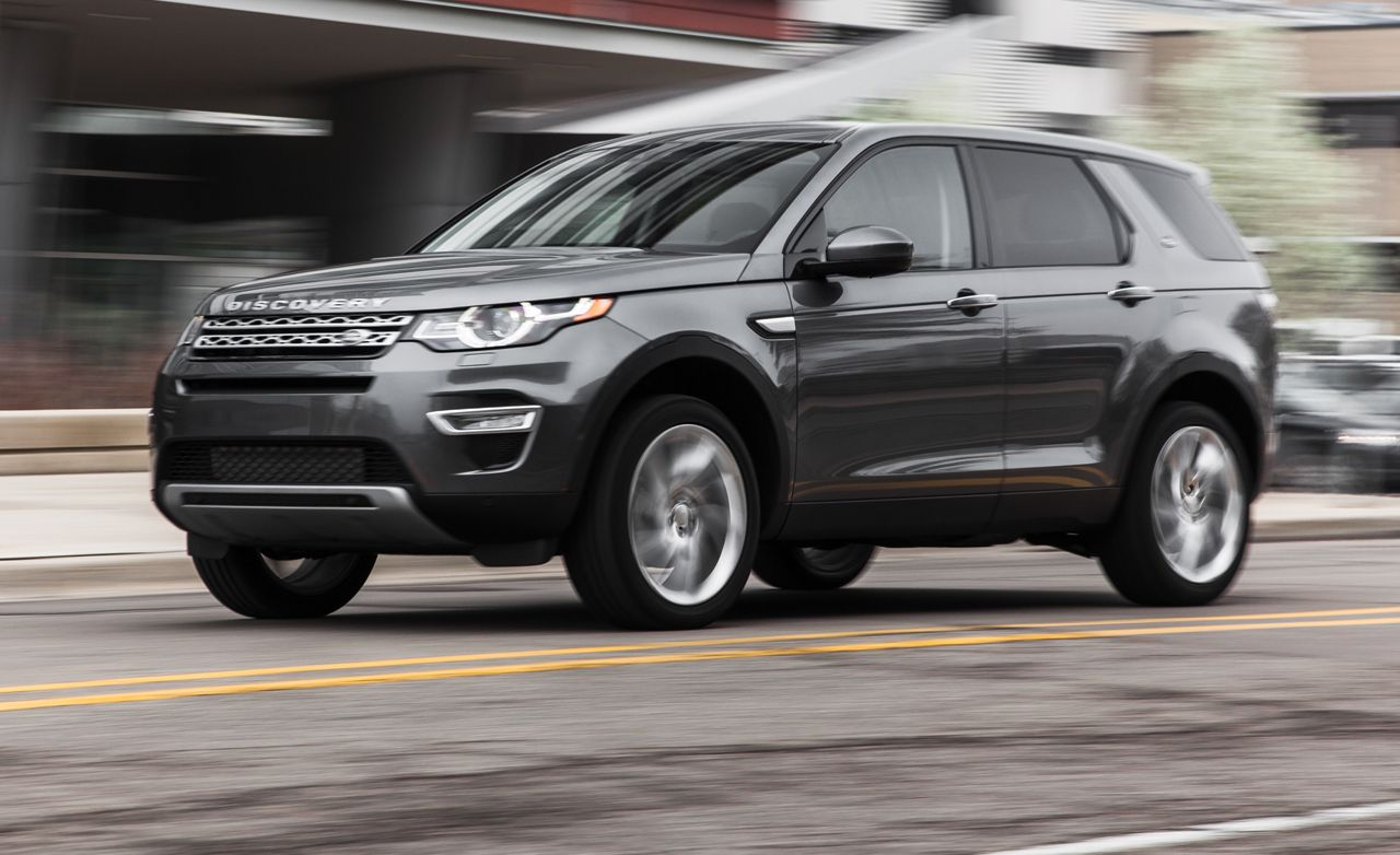 Land Rover Discovery Sport Reviews Land Rover Discovery Sport
