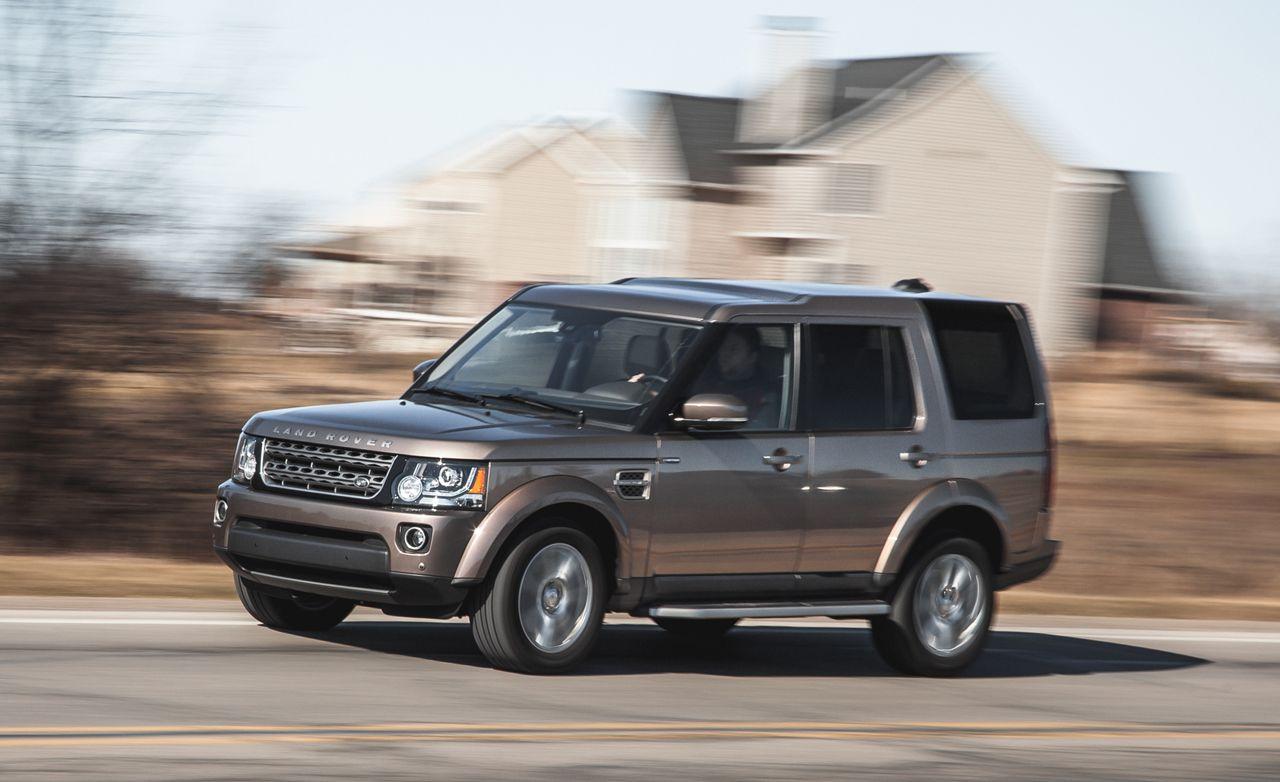 2015 Land Rover LR4 3.0 V-6