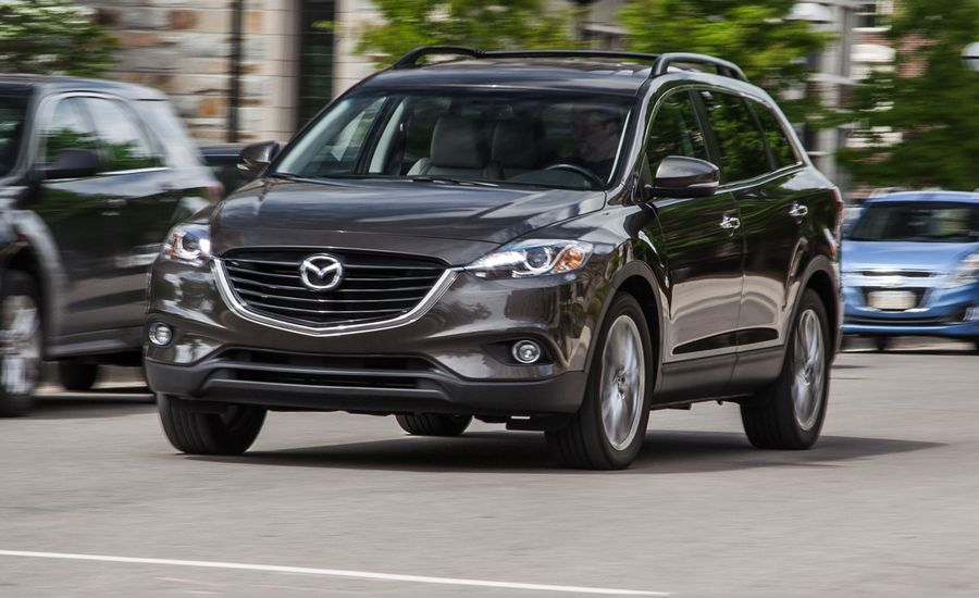 2015 mazda cx 9 review car and driver. Black Bedroom Furniture Sets. Home Design Ideas
