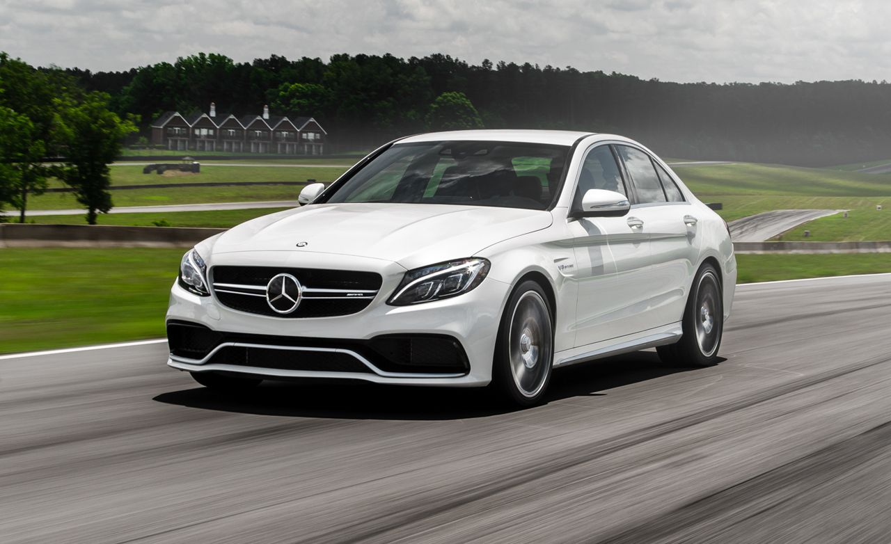 2015 mercedes amg c63 s sedan tested review car and driver for Mercedes benz c63 amg sedan
