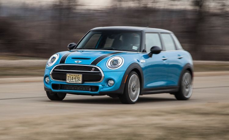 2015 Mini Cooper S Hardtop 4-Door Automatic