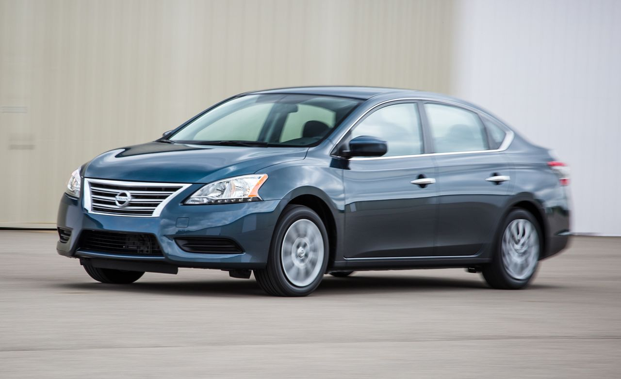 2015 nissan sentra review car and driver. Black Bedroom Furniture Sets. Home Design Ideas
