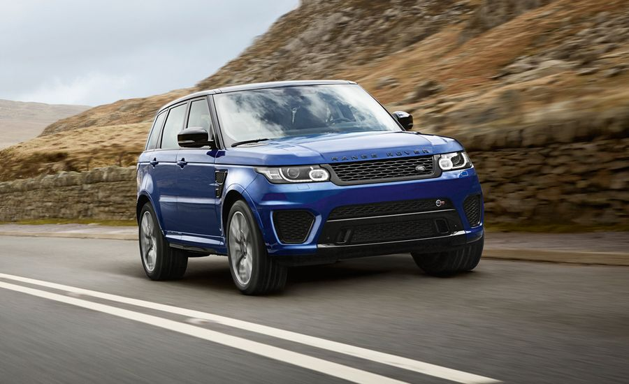 2015 range rover sport svr first drive review car and driver. Black Bedroom Furniture Sets. Home Design Ideas