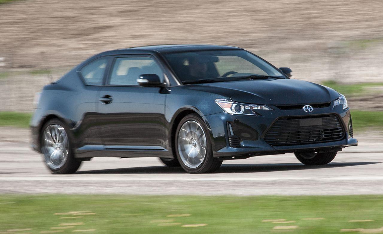 2015 scion tc review car and driver rh caranddriver com 2005 Scion tC Stick Shift 2005 scion tc manual transmission problems