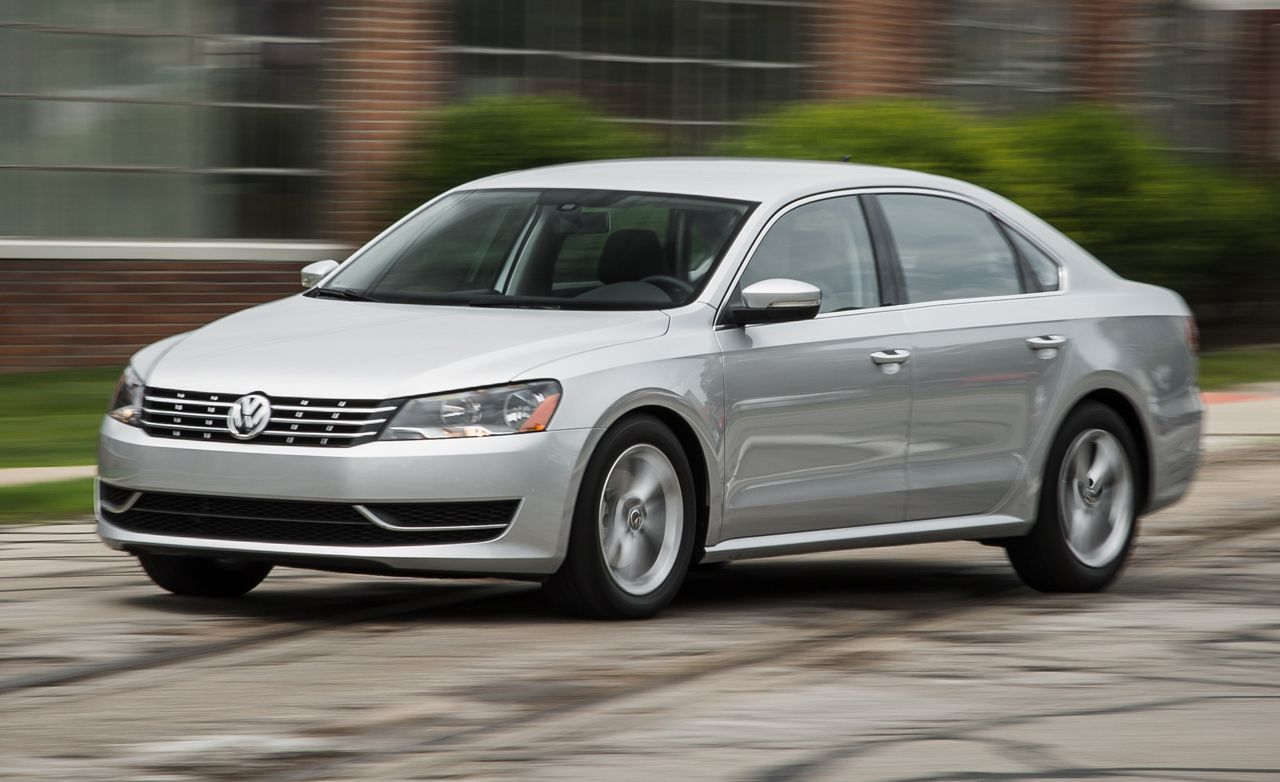 2015 Volkswagen Passat Review Car And Driver