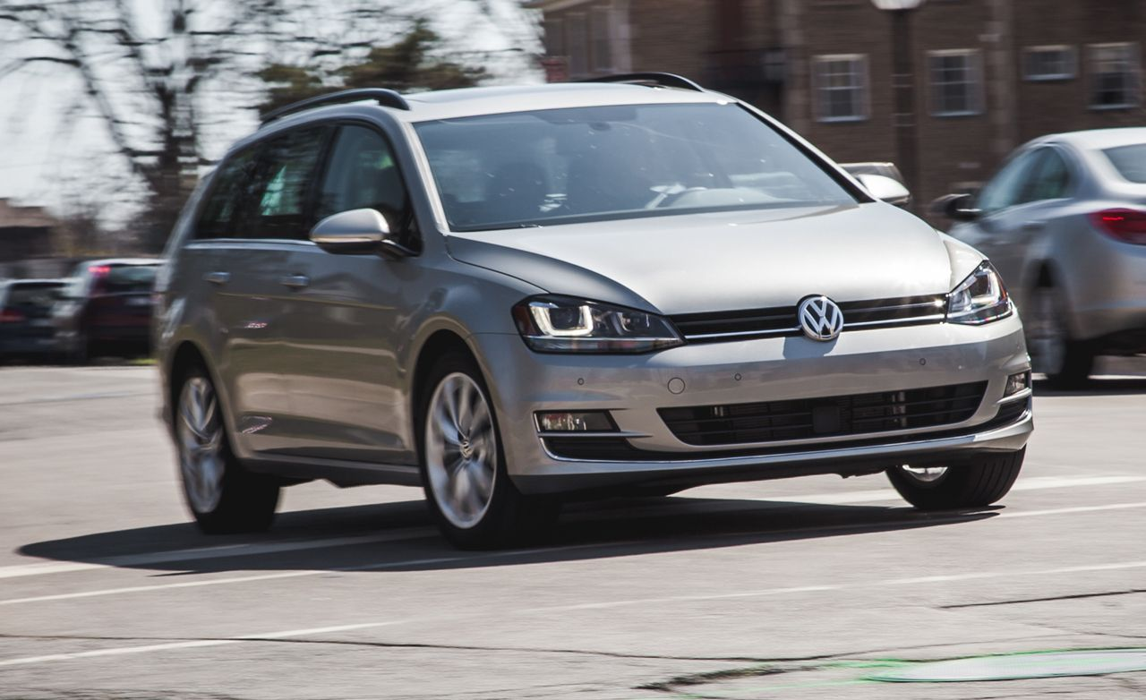 2015 vw golf sportwagen 1 8t automatic tested review car and driver