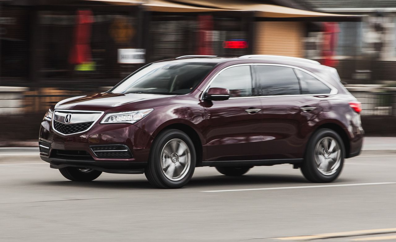 2016 Acura MDX SH-AWD with 9-Speed Automatic