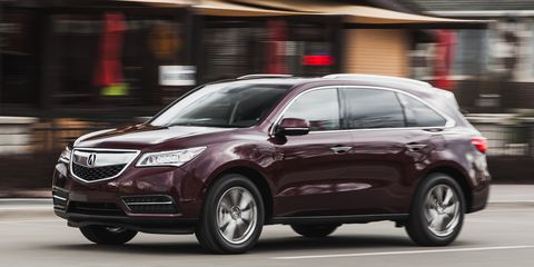 2016 Acura Mdx Sh Awd With 9 Sd Automatic
