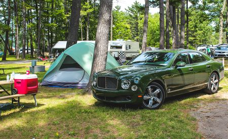 2016 Bentley Mulsanne Speed: We Go Camping with a $400,000 Mega-Sedan