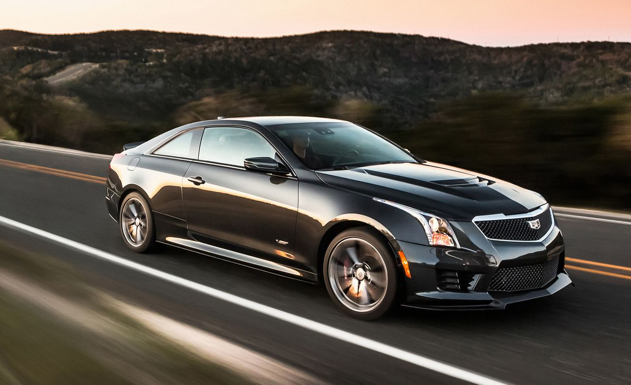 Cadillac Ats Coupe >> 2016 Cadillac Ats V Coupe Test Review Car And Driver