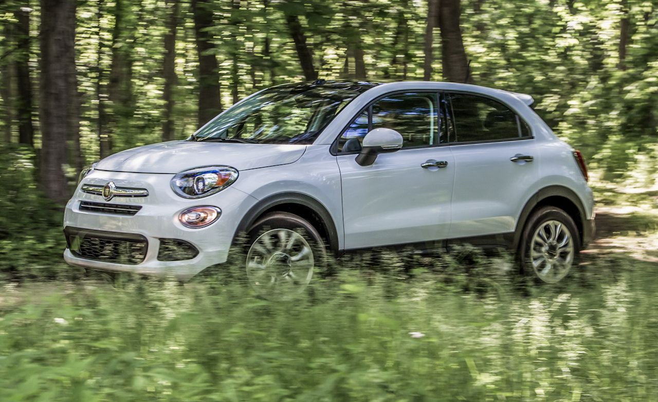 2016 fiat 500x awd test review car and driver. Black Bedroom Furniture Sets. Home Design Ideas