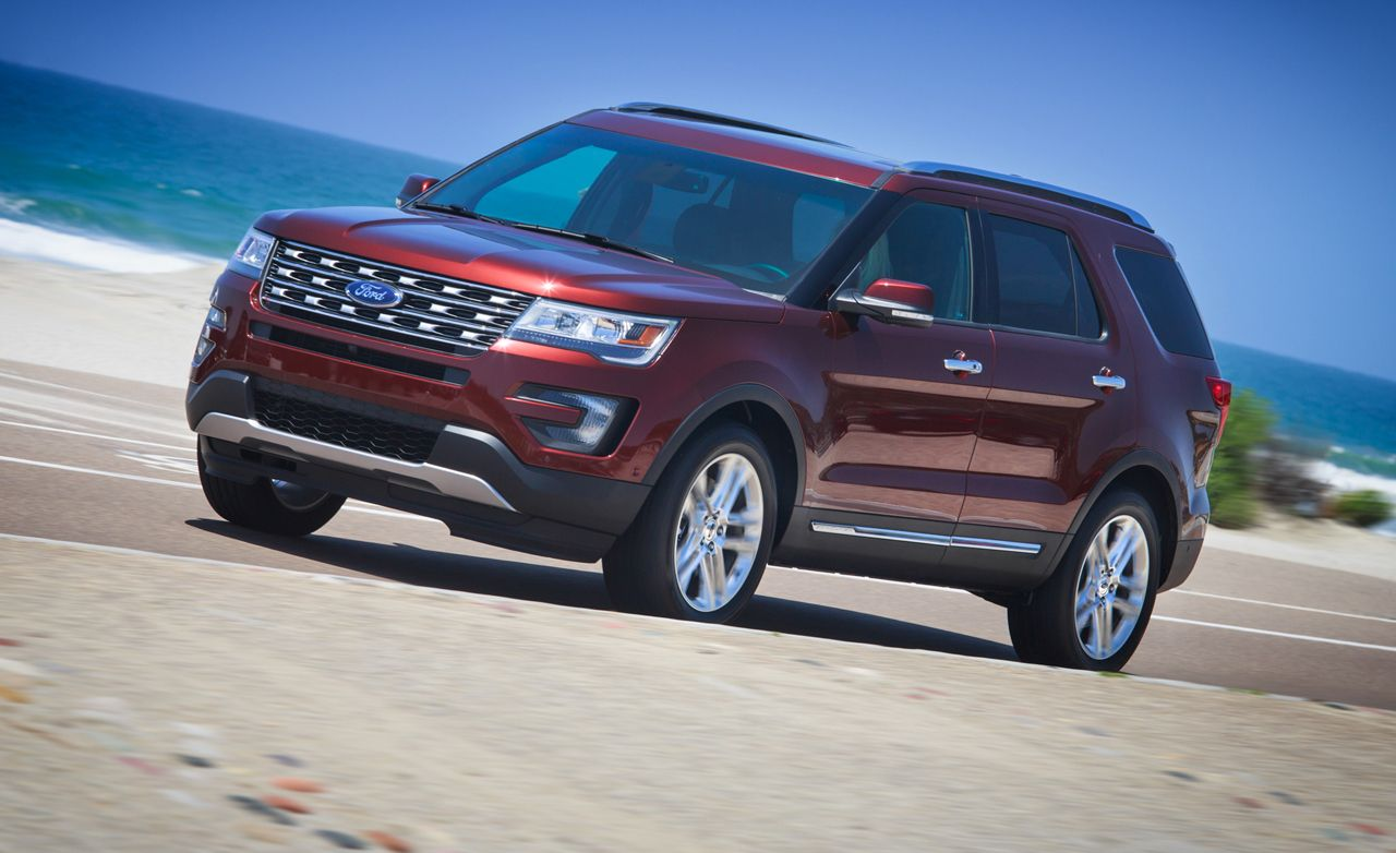 2016 ford explorer first drive review car and driver
