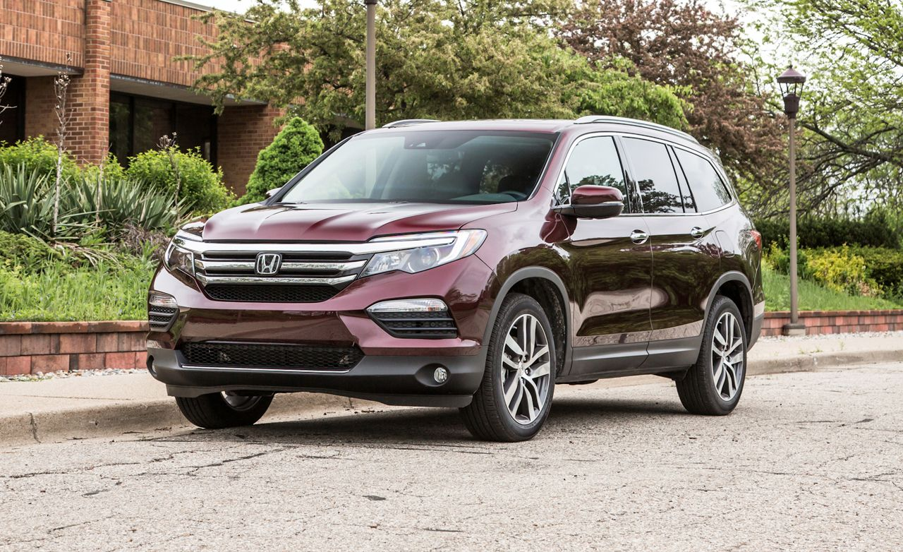 2016 honda pilot awd test review car and driver. Black Bedroom Furniture Sets. Home Design Ideas