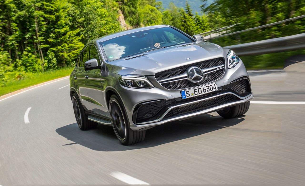 2016 mercedes benz gle class coupe first drive review. Black Bedroom Furniture Sets. Home Design Ideas