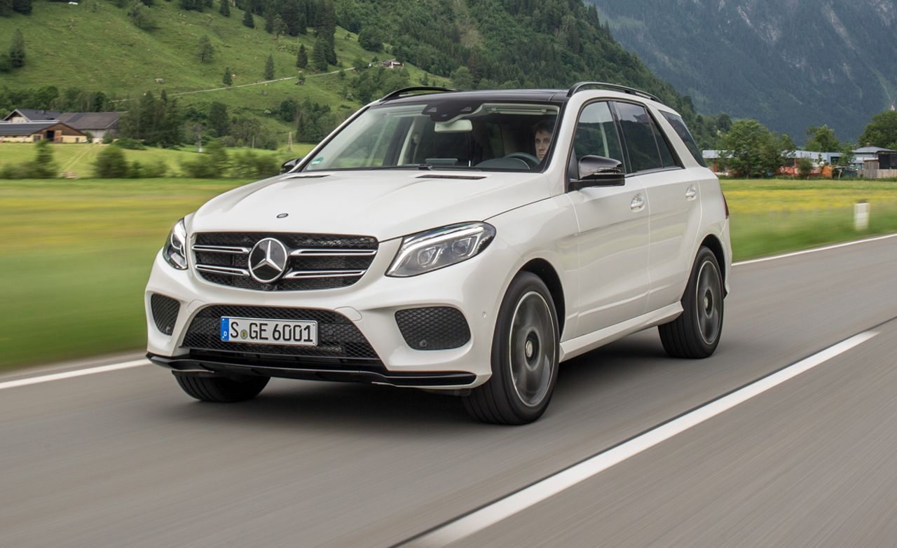2016 Mercedes Benz Gle350 Sport >> 2016 Mercedes-Benz GLE-class First Drive – Review – Car and Driver