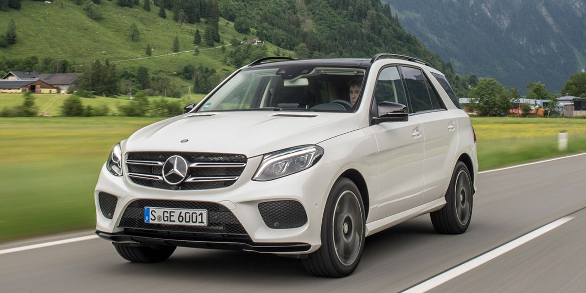 2016 Mercedes-Benz GLE-class First Drive