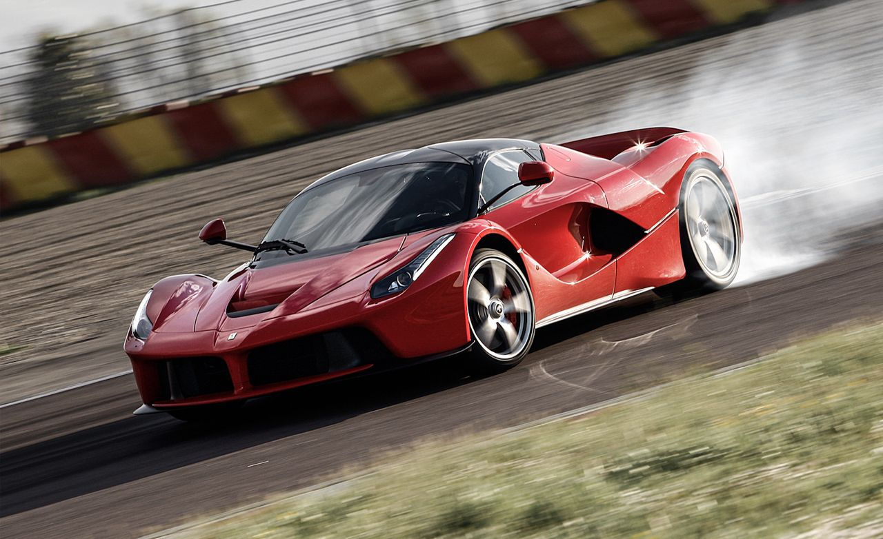 Ferrari Laferrari Hypercar Tested Review Car And Driver