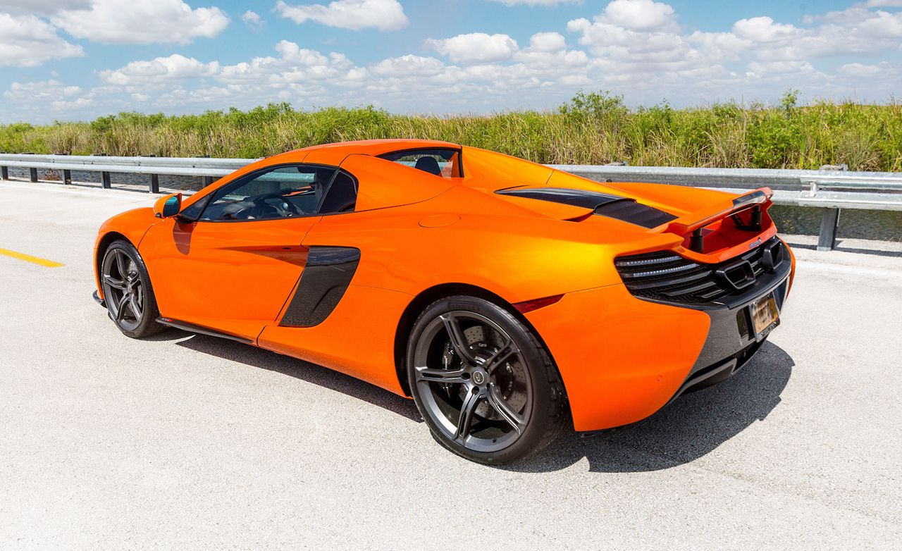 2015 McLaren 650S Spider Tested: Catch Me If You Can