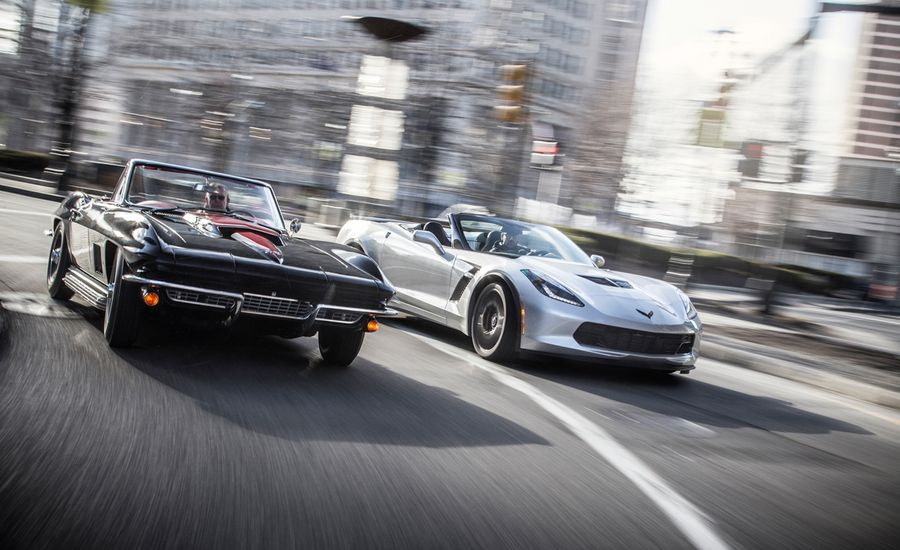The Spirit of Detroit: 1967 Chevrolet Corvette Sting Ray 427 vs. 2015 Chevrolet Corvette Z06 Convertible