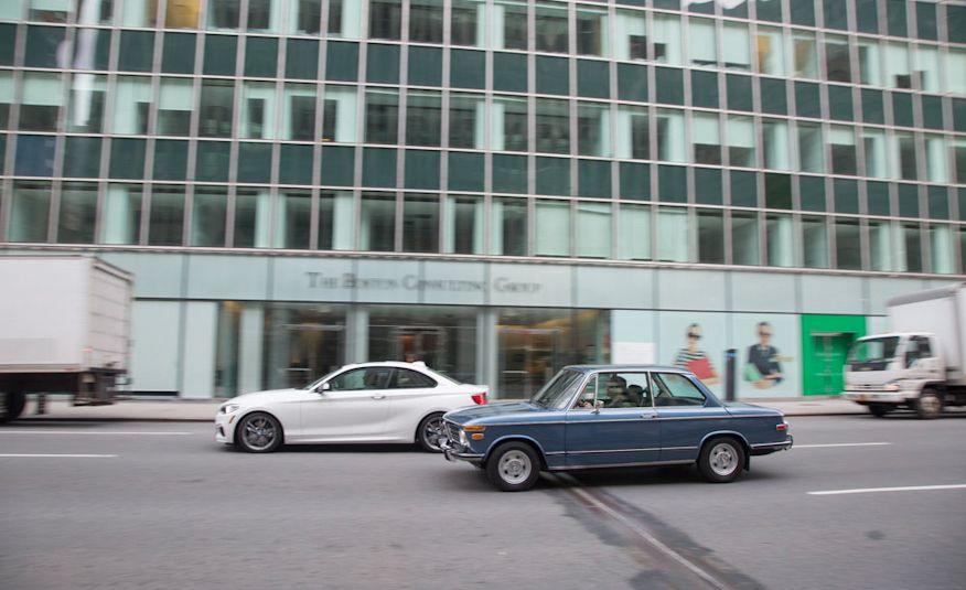 Empire Building: 2015 BMW M235i vs. 1972 BMW 2002 tii