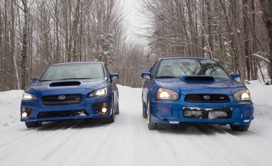 The Full Vermonty: 2015 Subaru WRX STI vs. 2004 Subaru Impreza WRX STi
