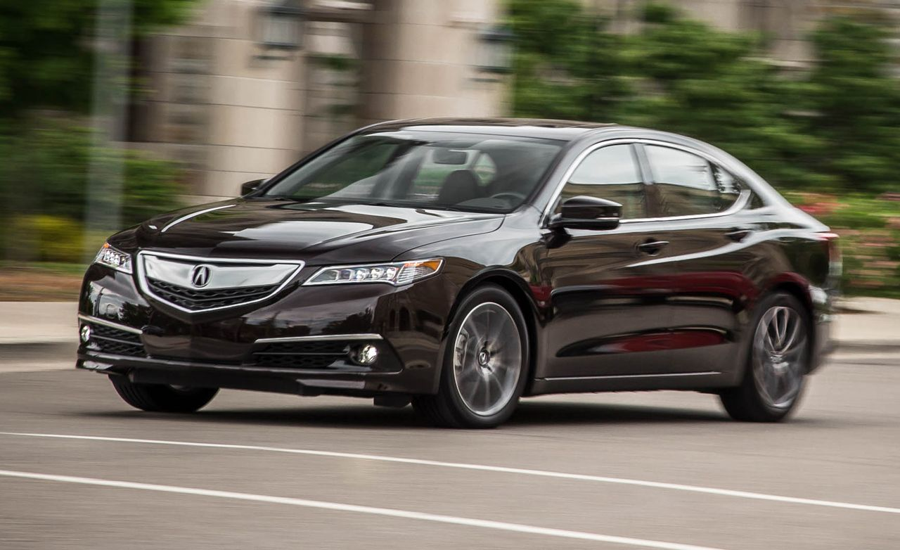 Acura Tl Review Car And Driver