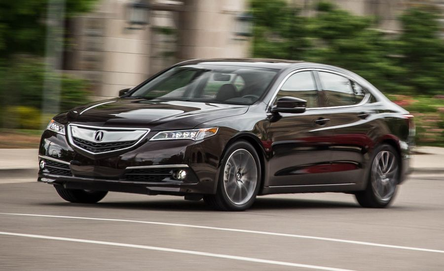 2015 acura tlx v 6 sh awd test review car and driver. Black Bedroom Furniture Sets. Home Design Ideas