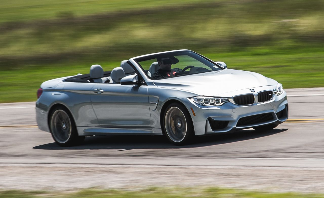2015 BMW M4 Convertible Manual