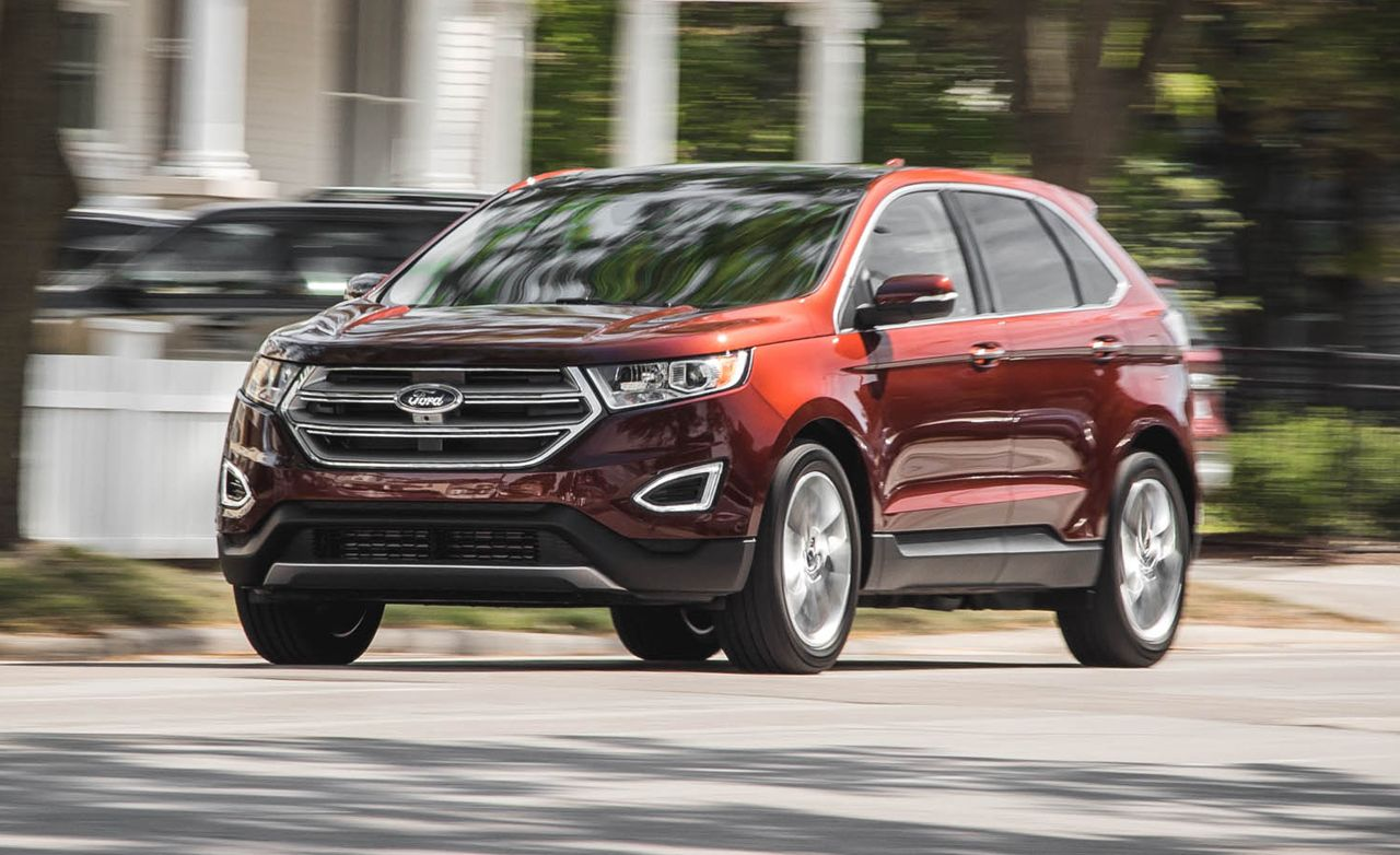 2015 Ford Edge 2.0L EcoBoost AWD : car and driver ford edge - markmcfarlin.com