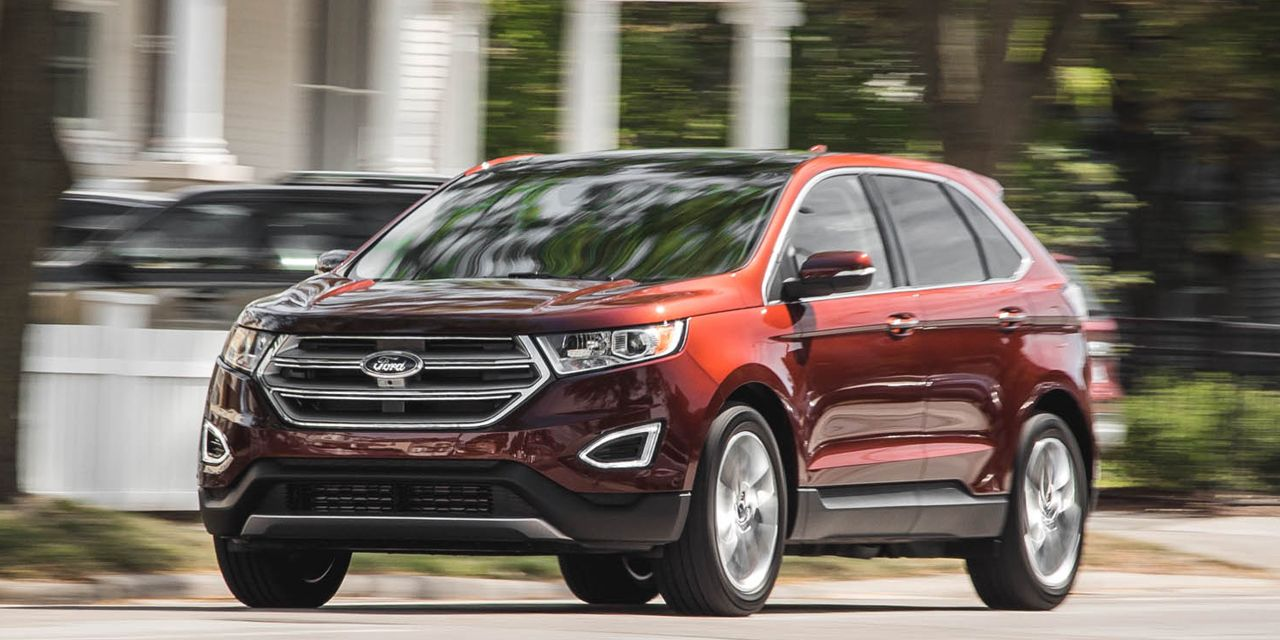 2015 ford edge titanium 2.0t ecoboost awd test – review &#8211
