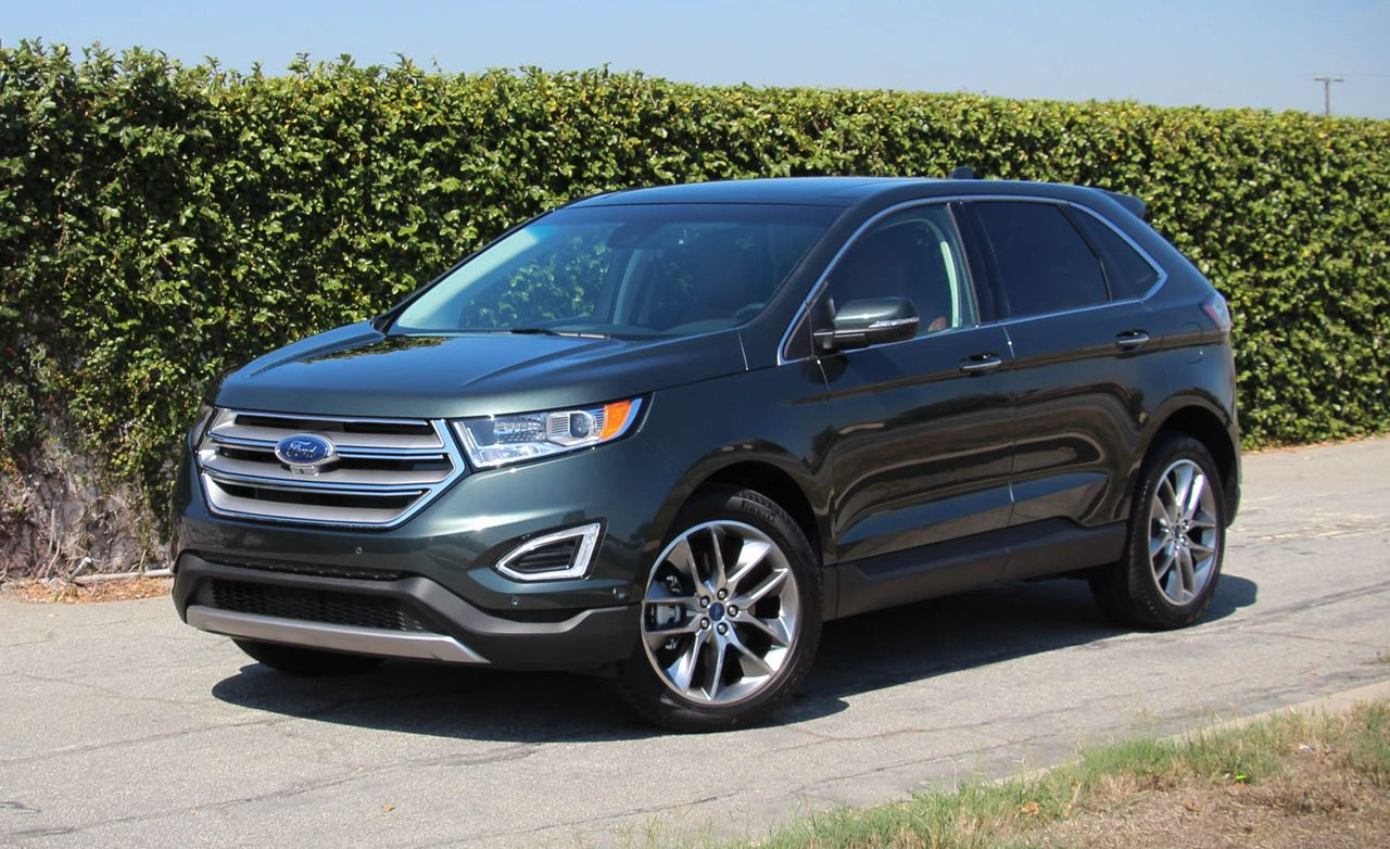2015 ford edge sel review