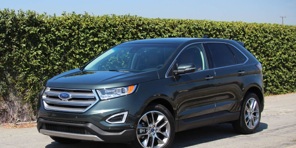 2015 ford edge titanium 3 5l v 6 awd test review car and driver. Black Bedroom Furniture Sets. Home Design Ideas