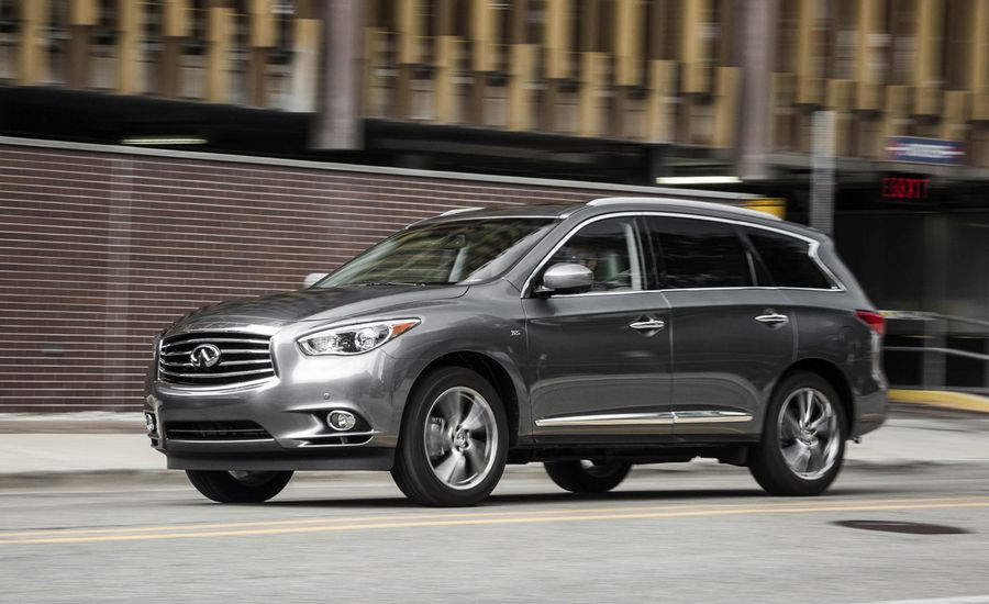 2015 Infiniti Qx60 Awd Quick Take Review Car And Driver