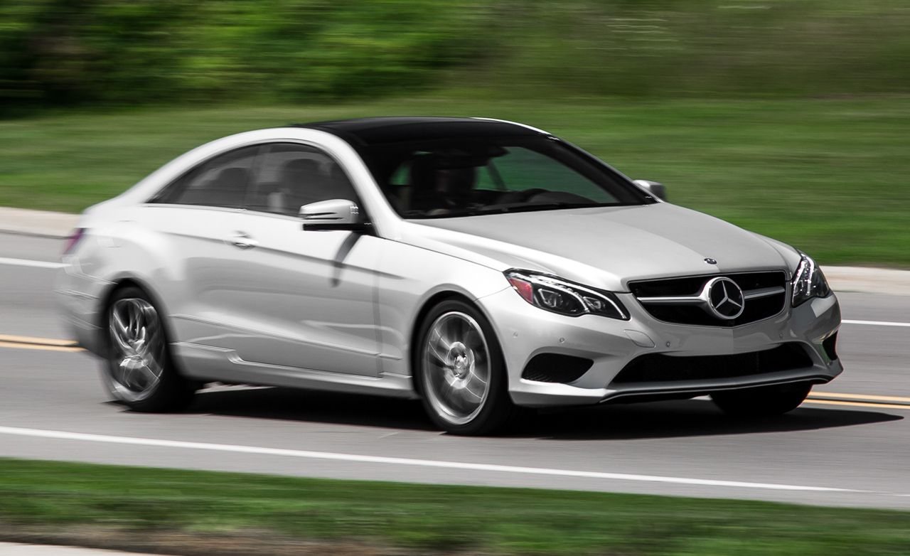 2015 mercedes benz e400 4matic coupe test review car and driver