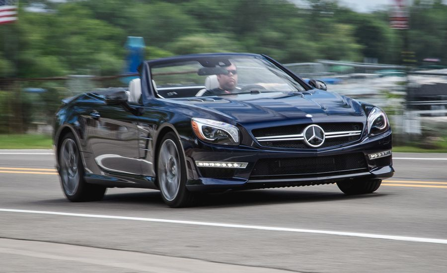 2015 mercedes benz sl63 amg test review car and driver for 2015 mercedes benz sl550