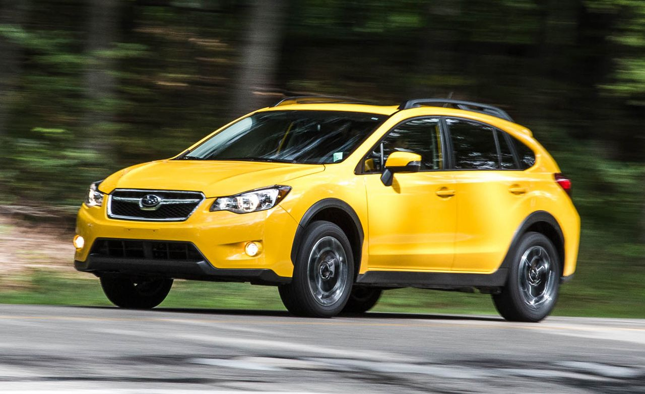 2015 subaru xv crosstrek 2.0i test – review – car and driver