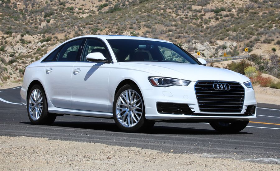 2016 audi a6 2 0t quattro test review car and driver. Black Bedroom Furniture Sets. Home Design Ideas