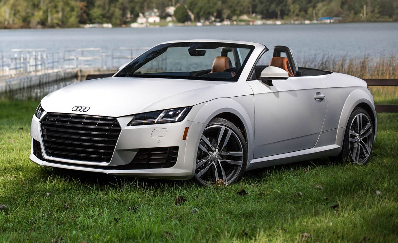 2016 audi tt roadster test – review – car and driver