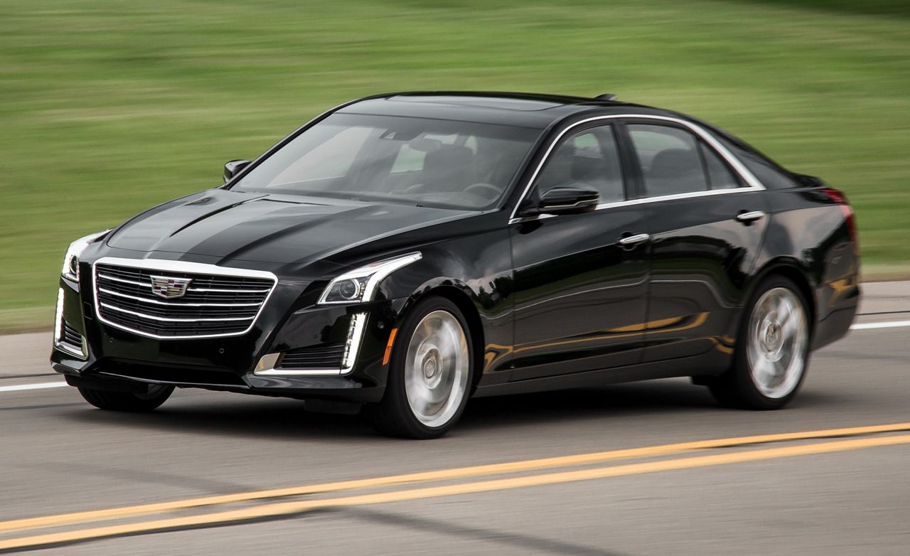 2016 Cadillac CTS 2.0T AWD 8-speed Automatic