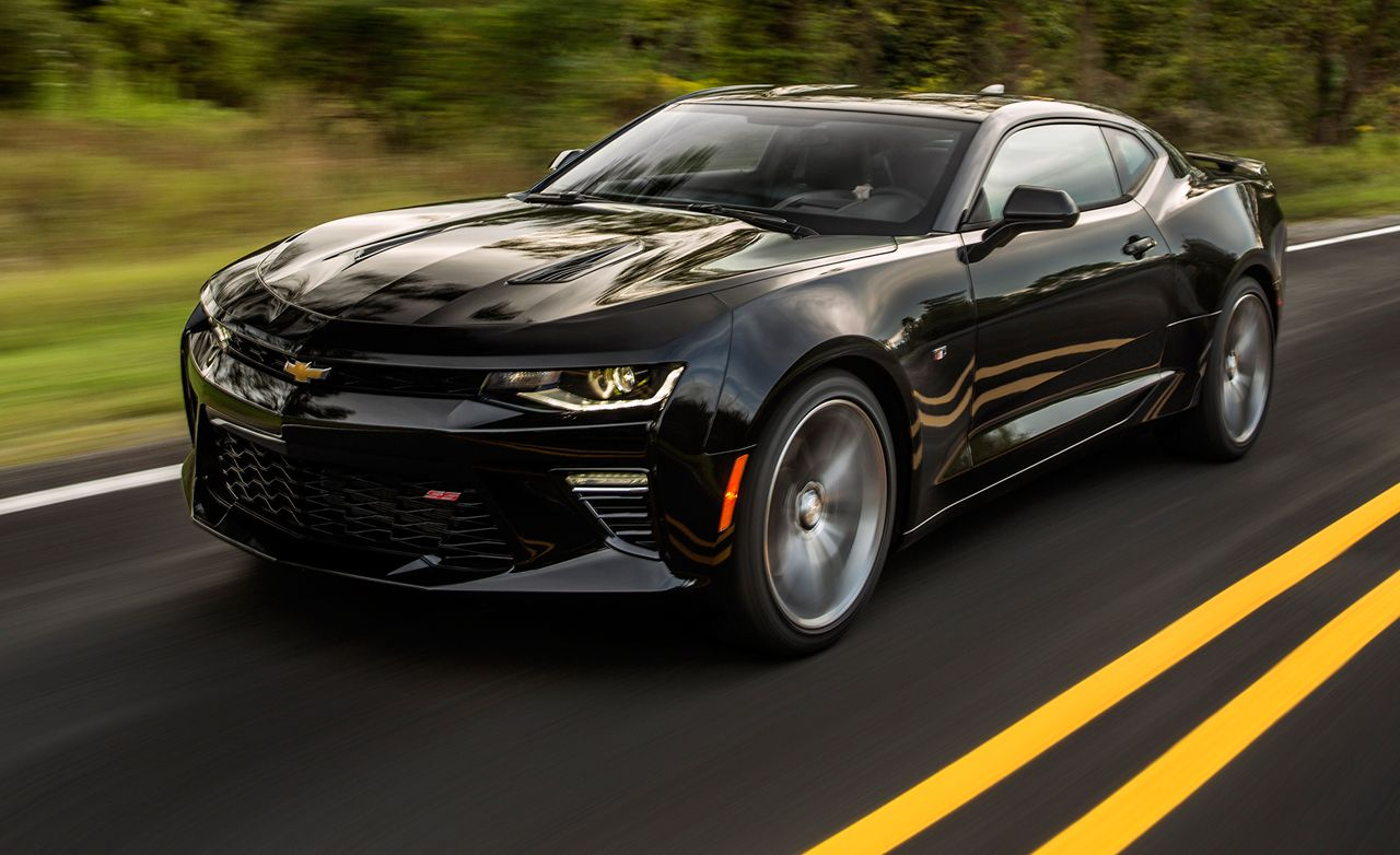 2016 Chevrolet Camaro SS Manual