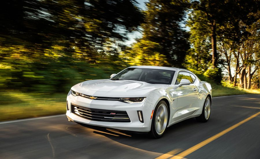 2016 Chevrolet Camaro V-6 Automatic First Drive – Review – Car and ...