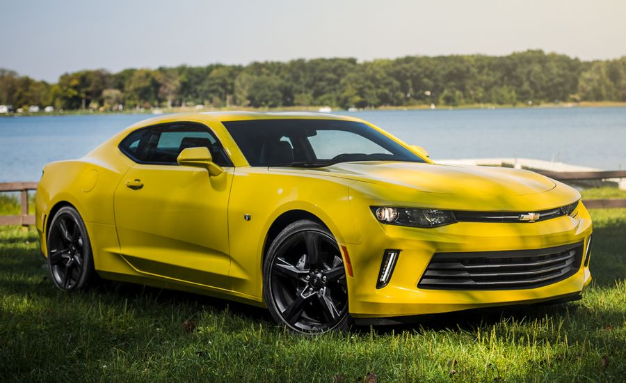2016 Chevrolet Camaro V-6 Manual Test | Review | Car and Driver