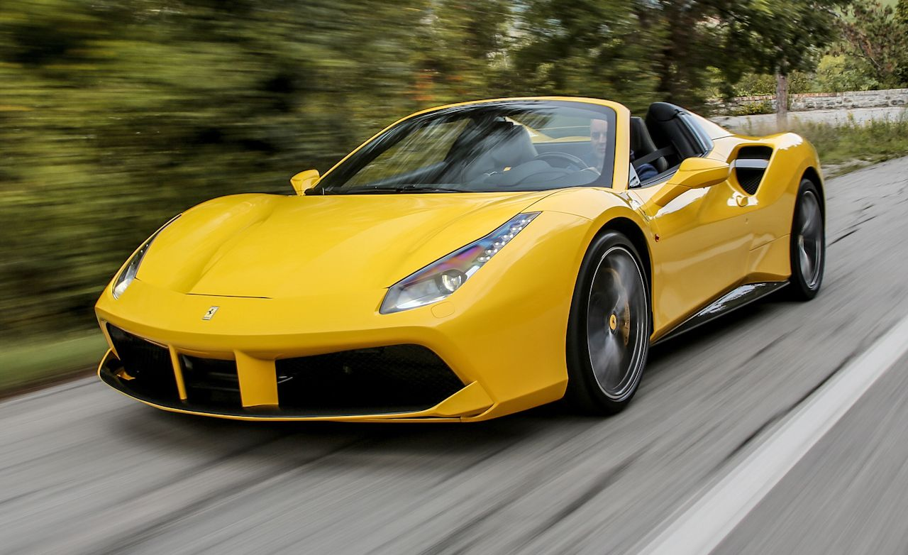 2016 Ferrari 488 Spider First Drive Review Car And Driver