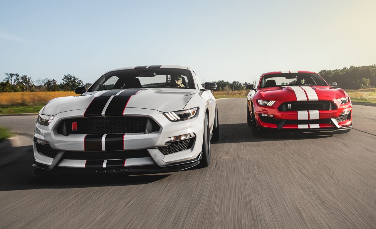 2016 ford mustang shelby gt350r first ride review car and driver