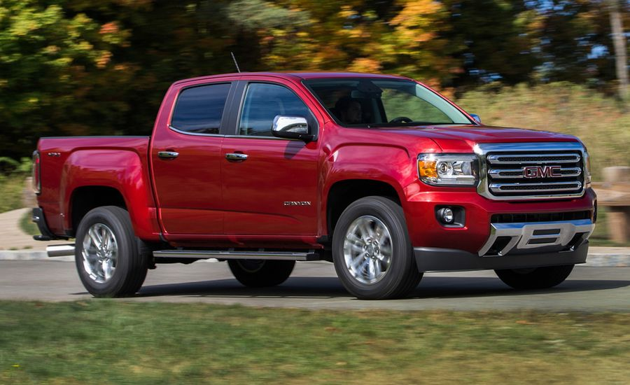 2016 gmc canyon diesel first drive review car and driver. Black Bedroom Furniture Sets. Home Design Ideas